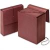 "Pendaflex A-Z Vertical Expanding File - 3 1/2"" Folder Capacity - Letter - 8 1/2"" x 11"" Sheet Size - 21 Pocket(s) - Fiber - Redrope - 1 Each"