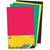 "Pacon Half-size Sheet Poster Board - 14"" x 22"" - 5 / Pack - Assorted"