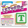 "Trend 3-D Block Style 4"" Ready Letters - Pre-punched, Fade Resistant, Reusable - 4"" Height - Assorted - 96 / Pack"