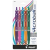 Acroball Colors - Medium Point Type - 1 mm Point Size - Refillable - Purple, Pink, Turquoise, Orange, Green Advanced Ink Ink - Purple, Pink, Turquoise, Orange, Green Barrel - 5 / Pack