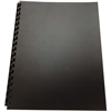 "Swingline 100% Recycled Poly Cover - For Letter 8.50"" x 11"" Sheet - Square - Black - Polypropylene - 25 / Pack"