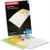 "Swingline® GBC® SelfSeal™ Cold Laminating Sheet - Sheet Size Supported: Letter 8.50"" Width x 11"" Length - Laminating Pouch/Sheet Size: 9"" Width x 12"" Length x 3 mil Thickness - Glossy -"