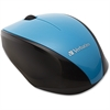 Verbatim Wireless Notebook Multi-Trac Blue LED Mouse - Blue - Blue Optical - Wireless - Radio Frequency - Blue - USB 2.0 - Scroll Wheel - 2 Button(s)