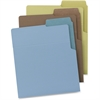 "Smead Organized Up® Heavyweight Vertical File Folder - Letter - 8 1/2"" x 11"" Sheet Size - 25 Sheet Capacity - Assorted - 6 / Pack"