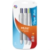 InkJoy Quatro 3 Pack Retractable Pens - 1 mm Point Size - Black, Blue, Red, Green, Turquoise, Lime, Magenta, Purple - White Barrel - 3 / Pack