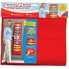 "Educational Insights Space Place Pocket Chart - 12 Pocket(s) - 55"" Height - Multi - Nylon - 1Each"