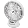 "Bionaire BDF1011A-GU 10"" Table Fan Circulator - 152.4 mm Diameter - 2 Speed - Adjustable Tilt Head, Oscillating, Quiet, Energy Efficient - 8"" Height x 7.9"" Width x 7"" Depth - Plastic, Metal - White"