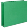 "Smead Colored Hanging Box Bottom Folders - 2"" Folder Capacity - Letter - 8 1/2"" x 11"" Sheet Size - 2"" Expansion - 1/5 Tab Cut - Assorted Position Tab Location - 11 pt. Folder Thickness - Green - Recyc"