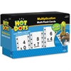 Hot Dots Flash Cards, Multiplication Facts 0-9 - Accessory For Kids Reading System
