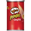 Pringles Grab/Go Original Potato Crisps - Original - Can - 1 Serving Can - 2.38 oz - 12 / Carton