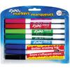 Expo Low-Odor Dry-erase Fine Tip Markers - Fine Point Type - Black, Blue, Turquoise, Aqua, Green, Lime, Pink, Red - 8 / Set