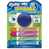 Expo Washable Markers - Bullet Point Style - Orange, Purple, Blue, Green - 5 / Set