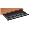 "Lorell NewHeights 5-Comp Center Drawer - 22.5"" Width x 16.6"" Depth x 1.8"" Height - Plastic - Black"