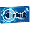 Orbit Flavored Sugar-free Gum - Peppermint - Sugar-free, Individually Wrapped - 12 / Box