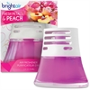 Bright Air Scented Oil Air Freshener - Liquid - 2.5 fl oz (0.1 quart) - Fresh Petals & Peach - 45 Day - 1 Each