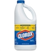 Clorox Regular-Bleach Concentrated - Liquid Solution - 0.50 gal (64 fl oz) - Bottle - 1 Each - Clear