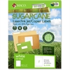 "MACO Laser / Ink Jet / Copier Sugarcane Full Sheet Labels - Permanent Adhesive - 8.50"" Width x 11"" Length - 1 / Sheet - Rectangle - Laser, Inkjet - White - 100 / Box"