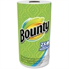 Bounty Paper Towel - 2 Ply - 44 Sheets/Roll - White - Paper - Absorbent - For Kitchen - 30 / Carton