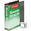"Cardinal Speedy XtraLife Slant-D Ring Binder - 2"" Binder Capacity - Letter - 8 1/2"" x 11"" Sheet Size - D-Ring Fastener - 2 Pocket(s) - Polyolefin-covered Chipboard - Black - 1 Each"