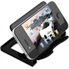 "Deflect-o Hands-Free Phone Stand - 2.8"" x 4"" x 2.8"" - 1 Each - Black"