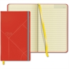 "TOPS Idea Collective Medium Hardbound Journal, Wide Rule, Red - 120 Sheets - Printed - 80 g/m² Grammage 5"" x 8.25"" - Cream Paper - Red Cover - 1Each"