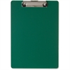 "OIC Low-profile Plastic Clipboard - 8.50"" x 11"" - Low-profile - Plastic - Green"