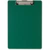 "OIC Low-profile Plastic Clipboard - 8.50"" x 11"" - Low-profile - Plastic - Green"