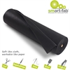"Smart-Fab Disposable Fabric Rolls - Project, Bulletin Board, Banner, Art, Craft, Decoration - 36"" x 600 ft - 1 / Roll - Black - Fabric"