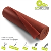 "Disposable Fabric Rolls - 36"" x 600 ft - 1 / Roll - Brown - Fabric"