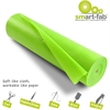 "Smart-Fab Disposable Fabric Rolls - 36"" x 600 ft - 1 / Roll - Apple Green - Fabric"
