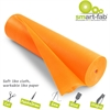 "Disposable Fabric Rolls - 36"" x 600 ft - 1 / Roll - Orange - Fabric"
