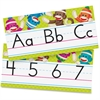 "Trend Sock Monkeys Alphabet Line Standard Manuscript Bulletin Board Set - Sock Monkey - Learning Theme/Subject - 8.50"" Height x 16.75"" Width - Multicolor - 1 / Set"