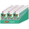 CLI Creative Arts Crayons Display - Assorted - 24 / Display Box