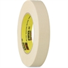 "Scotch High Performance Masking Tape - 1.89"" Width x 60 yd Length - 3"" Core - Rubber - Crepe Paper Backing - Adhesive, Easy Tear, Pressure Sensitive, Residue-free - 24 Roll - Tan"