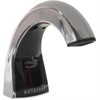 Rubbermaid FG401310 One Shot Liquid Dispenser - Polished Chrome/Black - Automatic - Chrome, Black