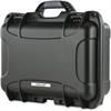 "Turtle 519 Equipment Case - Internal Dimensions: 13.80"" Width x 6.20"" Depth x 9.30"" Height - External Dimensions: 15.4"" Width x 6.8"" Depth x 12.1"" Height - Padlock Closure - Stainless Steel - Black -"