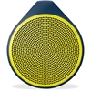 Logitech X100 Speaker System - Battery Rechargeable - Wireless Speaker(s) - Yellow - 30 ft - Bluetooth - USB