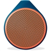 X100 Speaker System - Battery Rechargeable - Wireless Speaker(s) - Orange - 30 ft - Bluetooth - USB