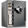 Fire-Safe XX-Large Safe-SFW205DPB - 2.07 ft³ - Combination, Dual Key, Mechanical Dial, Programmable Lock - Water Resistant, Fire Resistant, Pry Resistant, Impact Resistant, Explosive Resistant - Inter