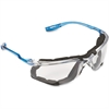 3M Virtua CCS Protective Eyewear - Dust, Ultraviolet Protection - Polycarbonate Lens - Blue - 1 Each