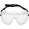 3M Large GoggleGear Safety Goggles - Large Size - Clear, Clear - 1 Each