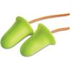 E-A-R E-A-Rsoft FX Corded Earplugs - Noise Protection - Foam, Polyurethane, Vinyl Cord - Yellow - 200 / Box