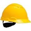 3M H700 Series Ratchet Suspension Hard Hats - Head, Ultraviolet Protection - Yellow - 1 Each
