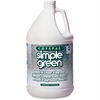 Simple Green Crystal Industrial Cleaner Degreaser - Liquid Solution - 1 gal (128 fl oz) - Bottle - 1 Each - Clear