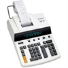 "Canon CP1213DIII Desktop Printing Calculator - Dual Color Print - Dot Matrix - 4.8 lps - Ergonomic Design, Independent Memory, Item Count - 0.67"" - 12 Digits - Fluorescent - AC Supply Powered - 6"" x 1"
