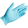 Kleenguard G10 Blue Nitrile Gloves M - Medium Size - Nitrile - Blue - Powder-free, Latex-free, Textured Fingertip, Beaded Cuff, Ambidextrous - For Food Handling - 10 / Box