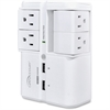 Compucessory 4-Outlets Surge Suppressor/Protector - 4 x AC Power