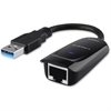 Linksys USB Ethernet Adapter (USB3GIG) - USB 3.0 - 1 Port(s) - 1 x Network (RJ-45) - Twisted Pair