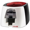 Evolis Badgy100 Plastic ID Card Solution - 40 Card Feeder, 40 Card Output Hopper - 16 Second Mono - 45 Second Color - 300 dpi - 16 MB - USB - PVC Card, Plastic Card