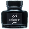Sanford S0037460 Quink Bottled Ink - Black Ink - 1 Each